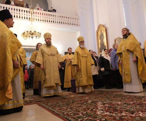 Первый визит митрополита Тверского и Кашинского Саввы в г. Ржев