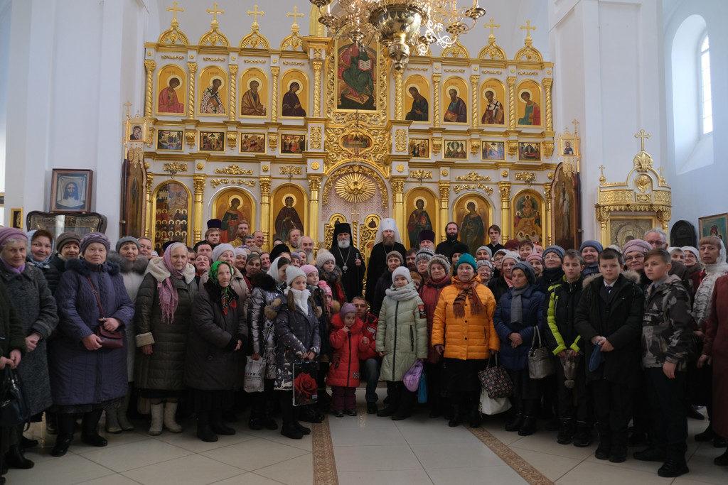 Визит митрополита Саввы во Ржев