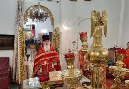 Пасха Христова в Вознесенском соборе г. Ржева