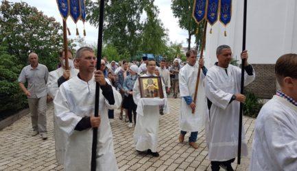 В праздник Вознесения Господня в Вознесенском соборе г. Ржева