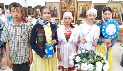 «Белый цветок» в Вознесенском соборе г. Ржева