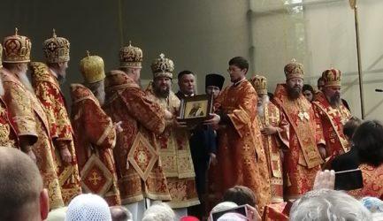 Прихожане Вознесенского собора г.Ржева приняли участие в торжествах в честь 500-летия обретения мощей святого преподобного Макария Калязинского