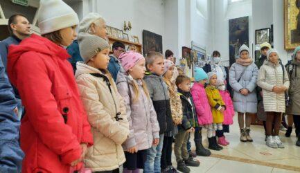 В Воскресной школе при Вознесенском соборе г. Ржева начался новый учебный год